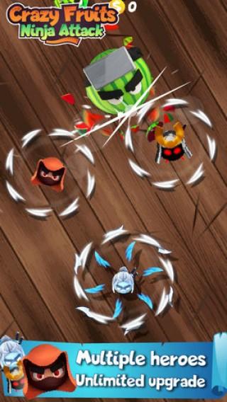 瘋狂水果忍者攻擊截圖(4)