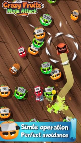 瘋狂水果忍者攻擊截圖(1)