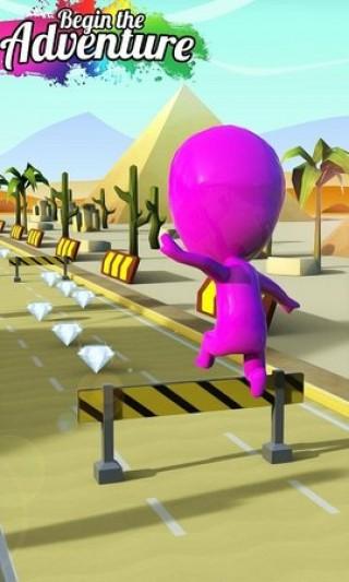 扭曲的顏色奔跑者截圖(3)