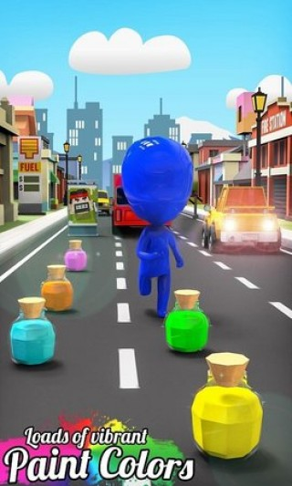扭曲的顏色奔跑者截圖(2)