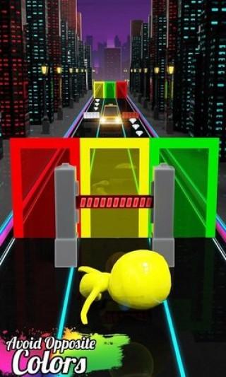 扭曲的顏色奔跑者截圖(1)