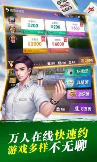 闲来安徽麻将截图(3)