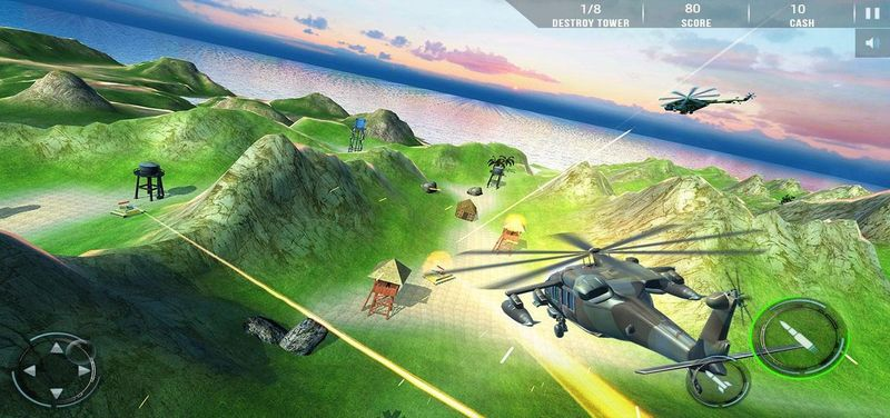 武裝直升機:現代戰爭截圖(1)