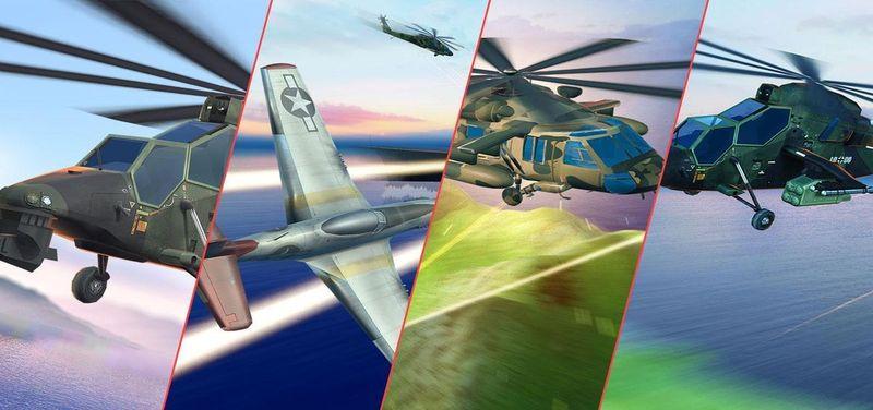 武裝直升機:現代戰爭截圖(2)