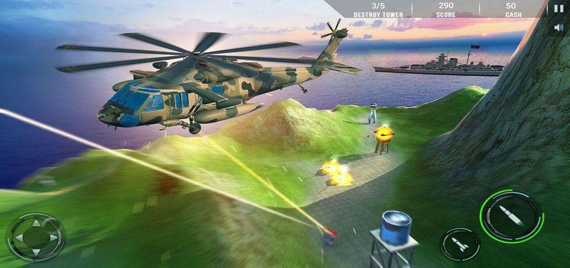 武裝直升機:現代戰爭截圖(3)
