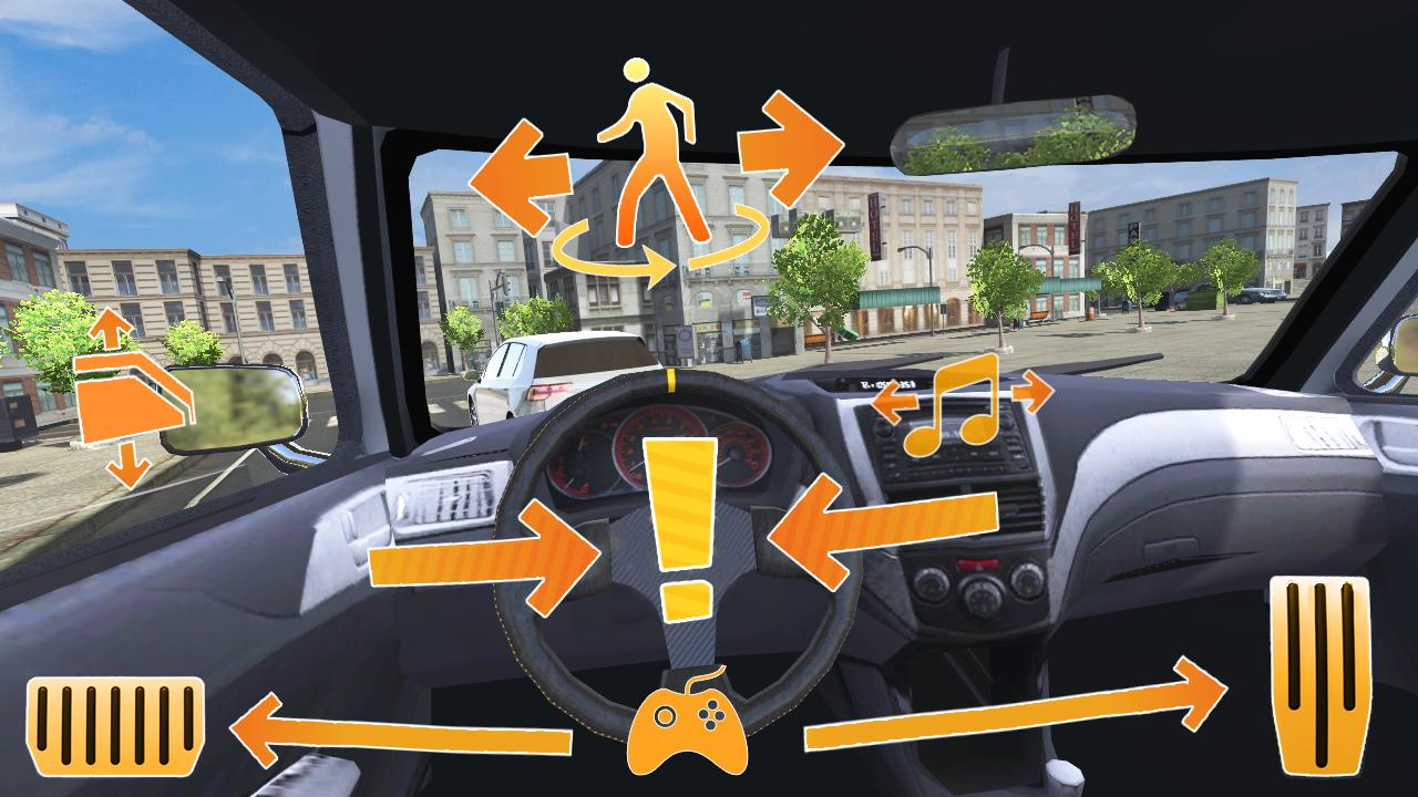城市汽车模拟截图(2)