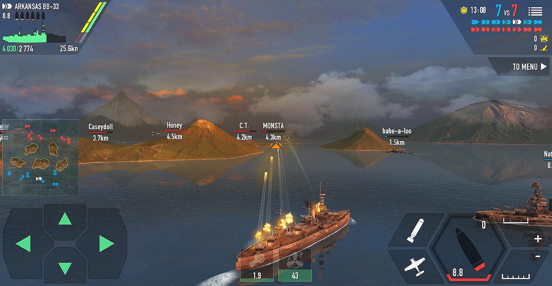 战舰激斗截图(3)