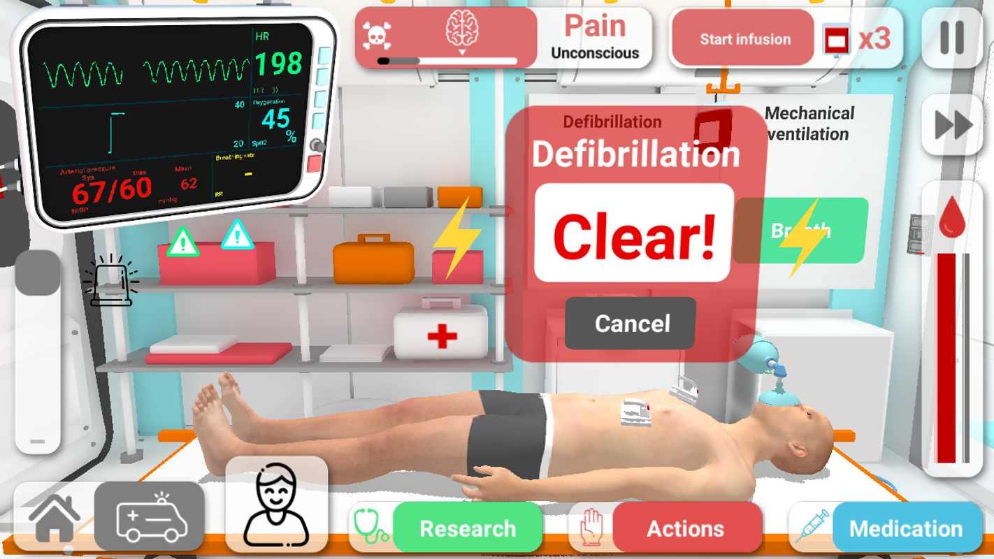 康復公司醫療模擬器截圖(3)