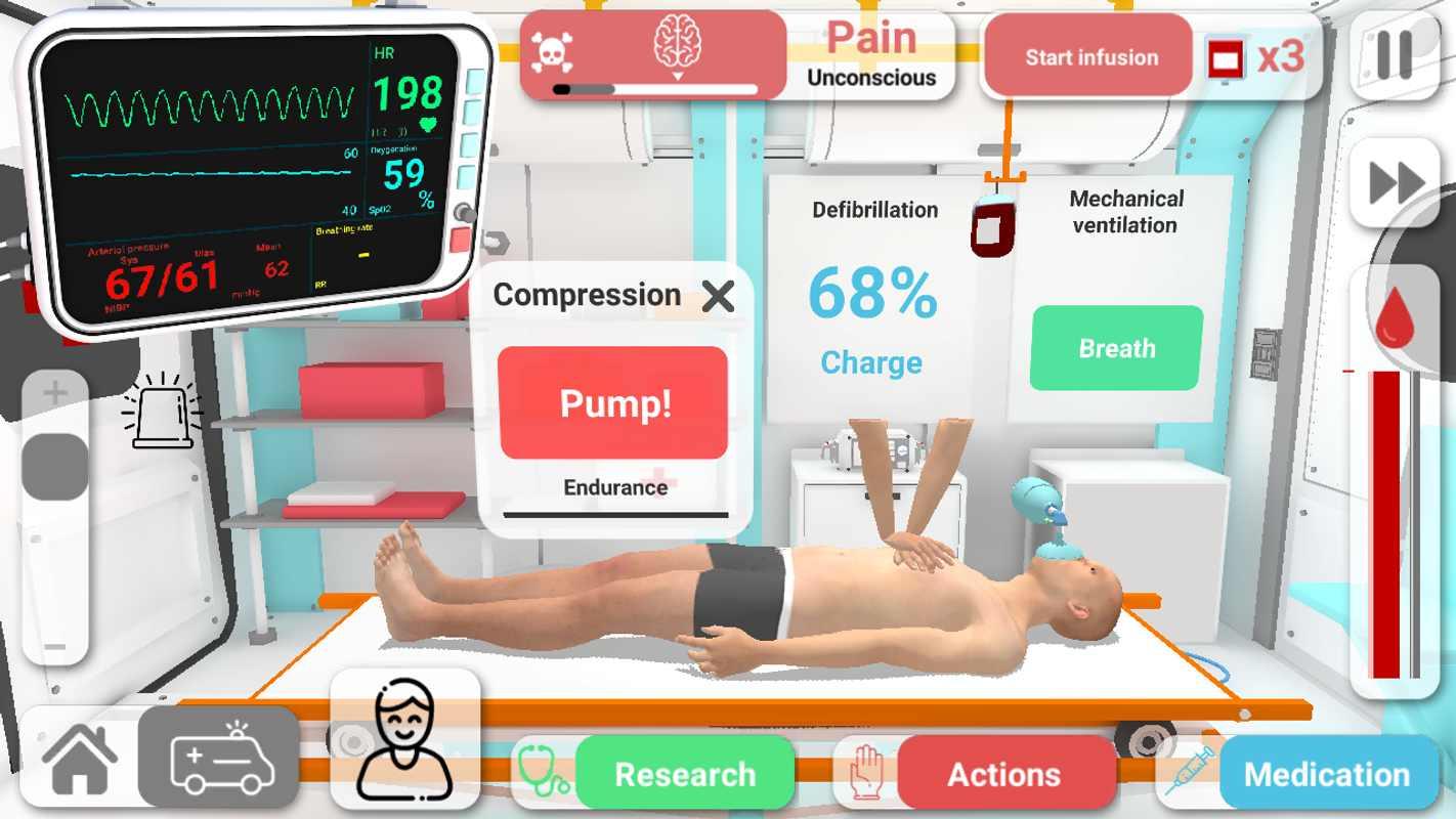 康復公司醫療模擬器截圖(4)