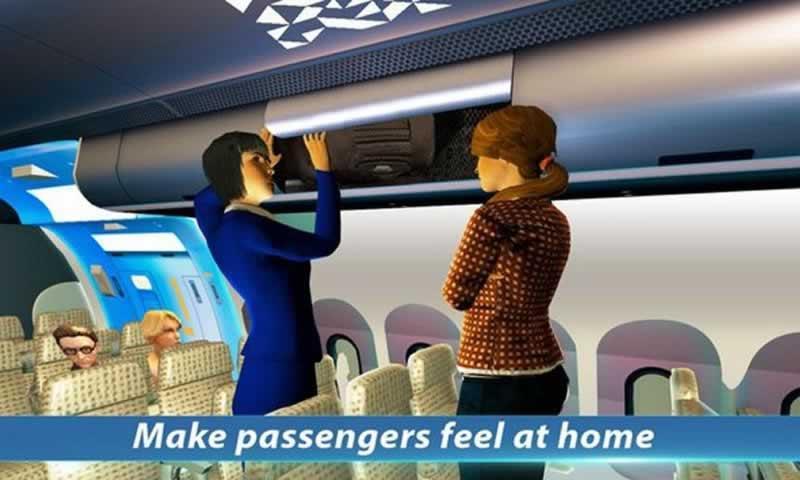 空姐模擬截圖(4)