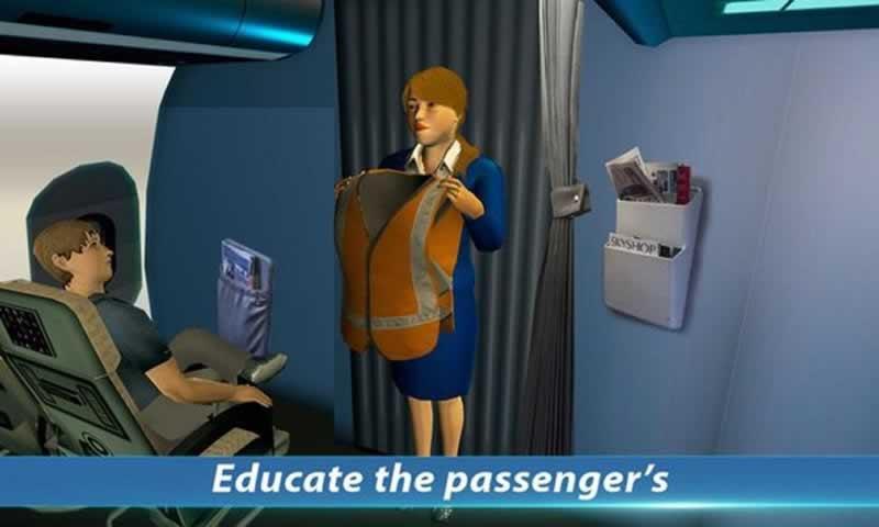 空姐模擬截圖(5)