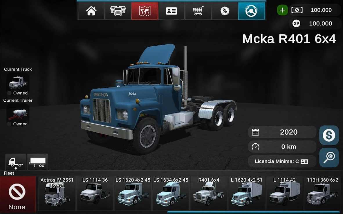 大卡車模擬器2漢化版截圖(2)