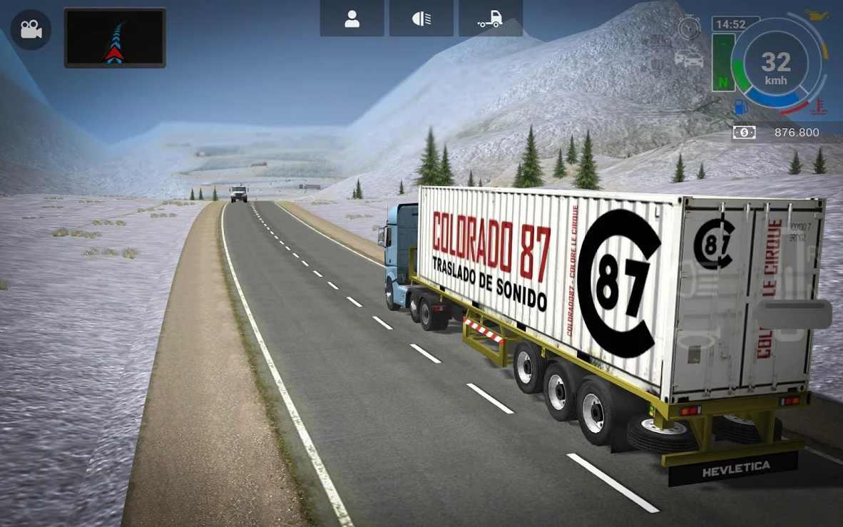 大卡車模擬器2漢化版截圖(3)
