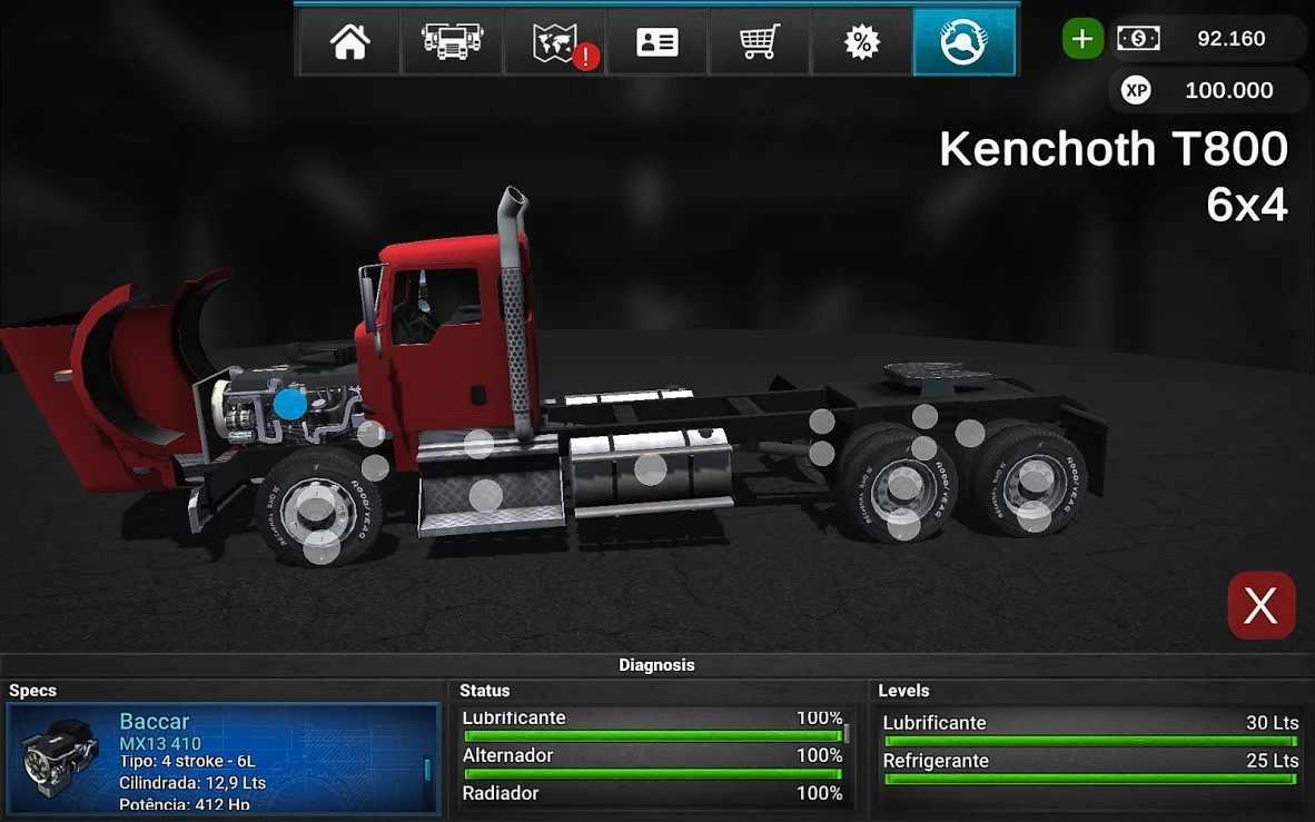 大卡車模擬器2漢化版截圖(4)