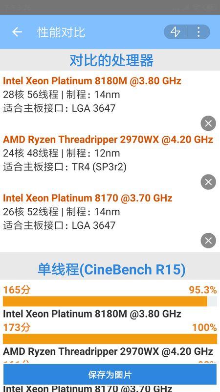CPU数据库截图(3)