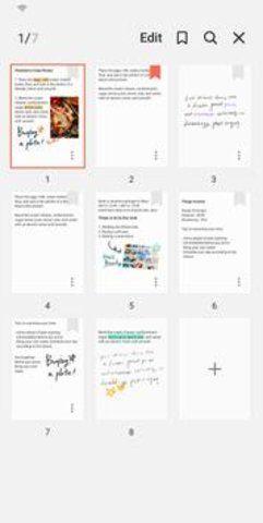 Samsung Notes截图(2)