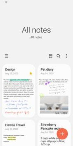 Samsung Notes截图(3)