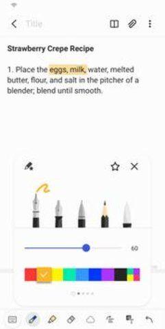 Samsung Notes截图(4)
