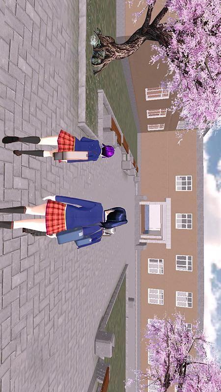 高校樱花物语截图(1)