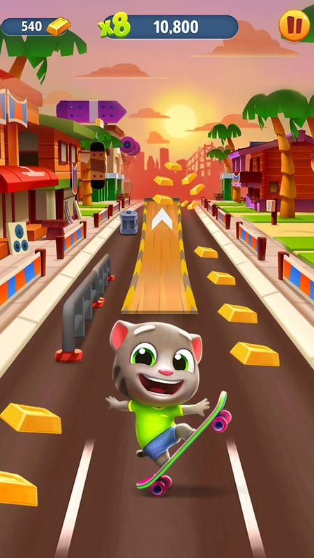 汤姆猫跑酷截图(2)