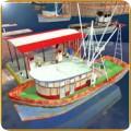 渔船巡航驱动器3D