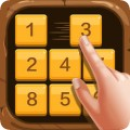 数字华容道 - 滑动拼图策略小游戏