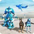 美国警察机器人狗警察飞机运
